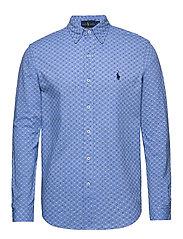 Featherweight Mesh Shirt - BLUE FOULARD DOT