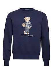 Polo Bear Fleece Sweatshirt - CRUISE NAVY