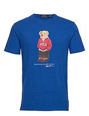 Custom Slim Fit Bear T-Shirt - PACIFIC ROYAL