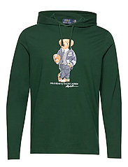 Polo Bear Hooded Tee - COLLEGE GREEN