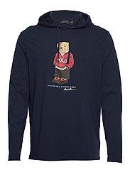 Polo Bear Hooded Tee - CRUISE NAVY