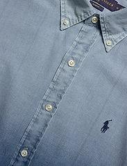 Polo Ralph Lauren - INDIGO SOLID-SL BD PPCSPT - podstawowe koszulki - 4380 blue dip dye - 2