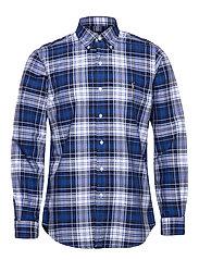 Custom Fit Striped Shirt - 4336 BLUE/WHITE M
