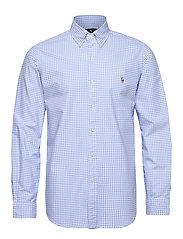 Custom Fit Striped Shirt - 4338A LIGHT BLUE/