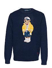 CP-93 Bear Sweater - NAVY SAILOR
