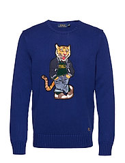 Polo Tiger Sweater - HERITAGE ROYAL