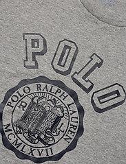Polo Ralph Lauren - Custom Slim Graphic T-Shirt - short-sleeved t-shirts - andover heather - 2