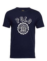 Custom Slim Graphic T-Shirt - CRUISE NAVY