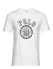 Custom Slim Graphic T-Shirt - WHITE
