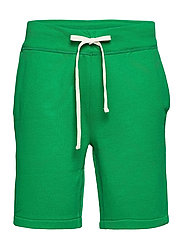 The Cabin Fleece Short - BILLIARD GREEN