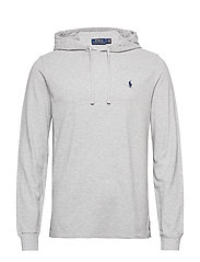 Cotton Mesh Hoodie - ANDOVER HEATHER/C