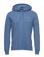 Cotton Mesh Hoodie - FRENCH BLUE/C3125