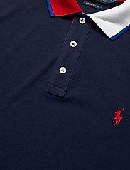 Polo Ralph Lauren - Custom Slim Fit Mesh Polo - short-sleeved polos - cruise navy - 2