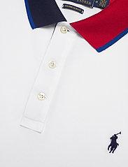 Polo Ralph Lauren - Custom Slim Fit Mesh Polo - short-sleeved polos - pure white - 2