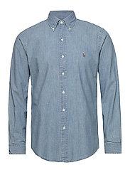 Custom Fit Chambray Shirt - CHAMBRAY
