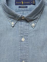 Polo Ralph Lauren - Custom Fit Chambray Shirt - podstawowe koszulki - chambray - 2