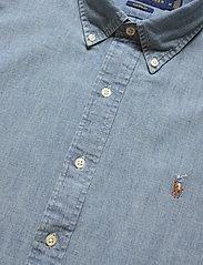 Polo Ralph Lauren - Custom Fit Chambray Shirt - podstawowe koszulki - chambray - 3