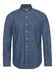 Custom Fit Denim Shirt - DENIM