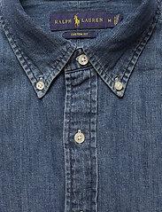 Polo Ralph Lauren - Custom Fit Denim Shirt - podstawowe koszulki - denim - 2