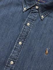 Polo Ralph Lauren - Custom Fit Denim Shirt - podstawowe koszulki - denim - 3