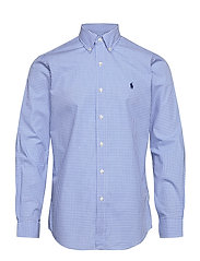 Custom Fit Poplin Shirt - 2863 BLUE/WHITE C