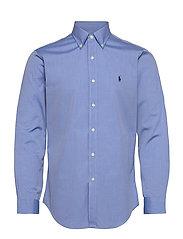 Custom Fit Poplin Shirt - 2865 BLUE END ON