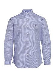 Custom Fit Poplin Shirt - 2866 BLUE/WHITE H