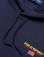 Polo Ralph Lauren - NEON FLEECE-LSL-KNT - basic sweatshirts - cruise navy - 3