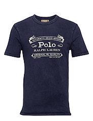Custom Slim Fit Jersey T-Shirt - CRUISE NAVY