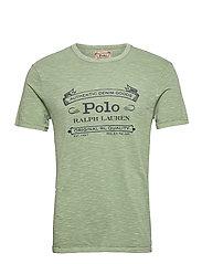 Custom Slim Fit Jersey T-Shirt - PISTACHIO