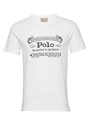 Custom Slim Fit Jersey T-Shirt - WHITE