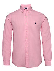Custom Fit Double-Faced Shirt - CARMEL PINK