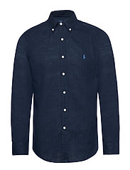 Custom Fit Double-Faced Shirt - CRUISE NAVY