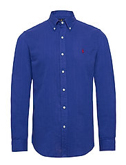 Custom Fit Double-Faced Shirt - TRAVEL BLUE