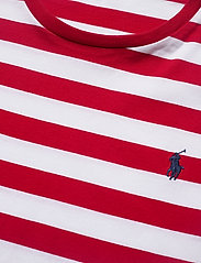 Polo Ralph Lauren - Custom Slim Striped T-Shirt - short-sleeved t-shirts - rl2000 red /white - 2