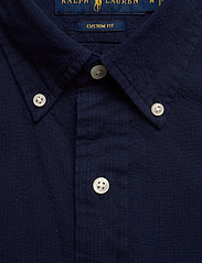 Polo Ralph Lauren - Custom Fit Seersucker Shirt - short-sleeved shirts - astoria navy - 2