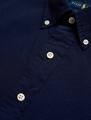 Polo Ralph Lauren - Custom Fit Seersucker Shirt - short-sleeved shirts - astoria navy - 3