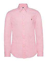 Slim Fit Chambray Shirt - PINK