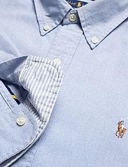 Polo Ralph Lauren - Custom Fit Oxford Shirt - basic shirts - bsr blue - 3