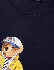 Polo Ralph Lauren - Custom Slim Fit Bear T-Shirt - short-sleeved t-shirts - cruise navy - 2