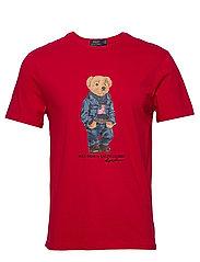 Custom Slim Fit Bear T-Shirt - RL 2000 RED