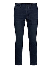 Stretch Slim Fit Chino-Style Jean - DENIM