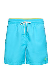 5½-Inch Traveler Swim Trunk - FRENCH TURQUOISE