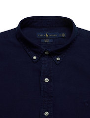 Polo Ralph Lauren - Slim Fit Indigo Oxford Shirt - basic shirts - indigo - 3