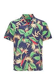 Custom Fit Floral Camp Shirt - 4822 PARADISE FLO
