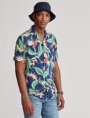 Polo Ralph Lauren - Custom Fit Floral Camp Shirt - short-sleeved shirts - 4822 paradise flo - 0
