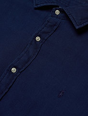 Polo Ralph Lauren - TEXTURE INDIGO WEAV-SLESTPPCS - basic shirts - 4783 dark indigo - 2