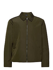 Water-Repellent Windbreaker - COMPANY OLIVE
