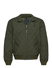 Water-Repellent Quilted Jacket - COMPANY OLIVE
