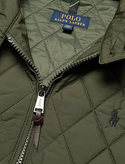 Polo Ralph Lauren - Water-Repellent Quilted Jacket - quilted jackets - company olive - 3